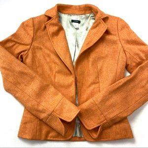 J. Crew Herringbone Ecole Jacket